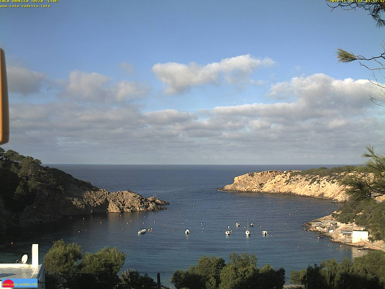 Webcam Cala Vadella - Ibiza